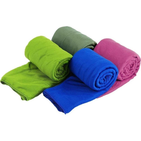 Sea To Summit Microfibre Pocket Towel - Medium Lime