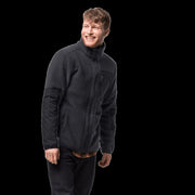 Jack Wolfskin Men's Kingsway Sherpa Fleece Jacket - Phantom