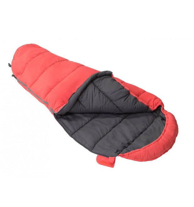 Vango Kanto Junior Sleeping Bag - Hot Coral