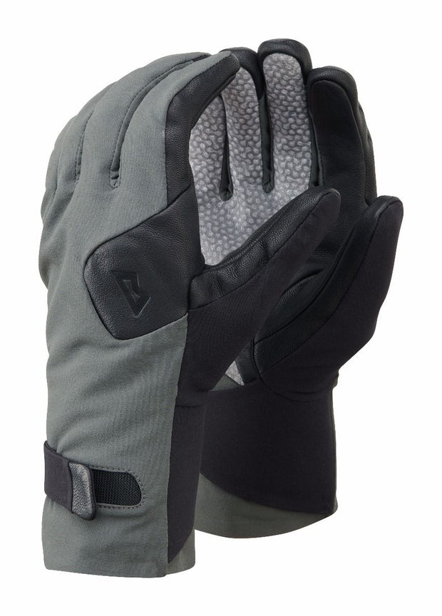 Mountain Equipment Men's Direkt Softshell Lined Glove - Shadow/Black
