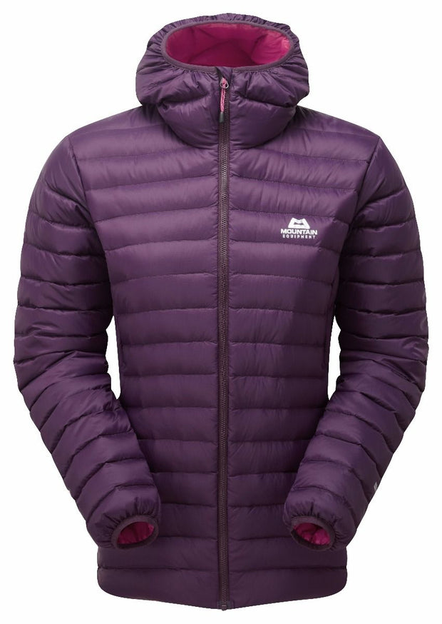 Mountain Equipment Women's Arete Hooded Down Jacket - Blackberry