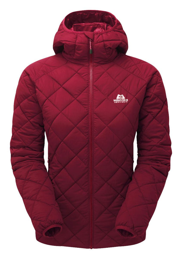 Mountain Equipment Women's Fuse Polarloft Insulated Jacket - Cranberry