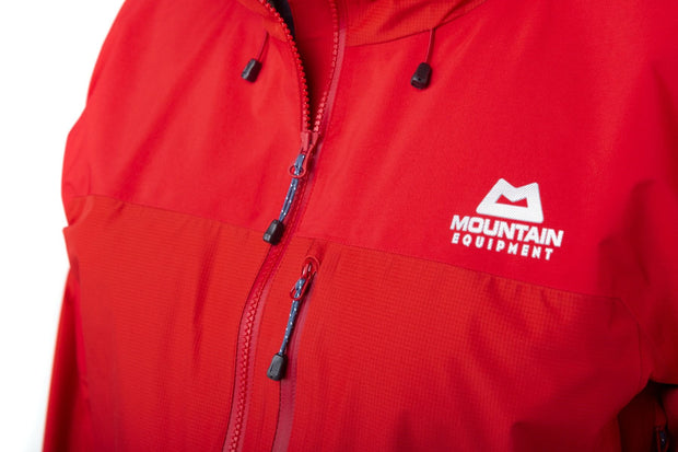 Mountain Equipment Men's Lhotse Atmo Hybrid Gore-Tex Jacket - Crimson/Imperial Red