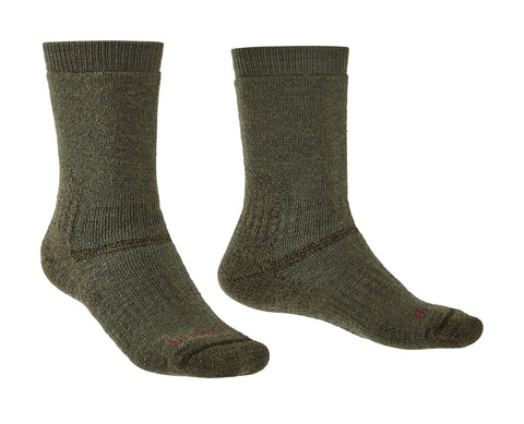 Bridgedale Men's Summit Explorer Heavyweight Boot Sock - Olive