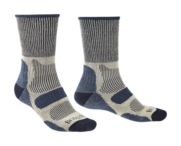 Bridgedale Men's Coolfusion Light Hiker Walking Socks - Indigo Blue