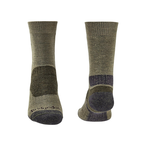 Bridgedale Men's Midweight Merino Performance Boot Sock (Trekker) - Green