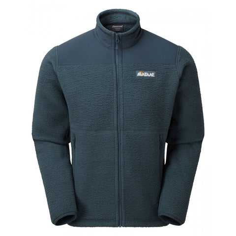 Montane Men's Chonos High Pile Fleece Jacket - Orion Blue