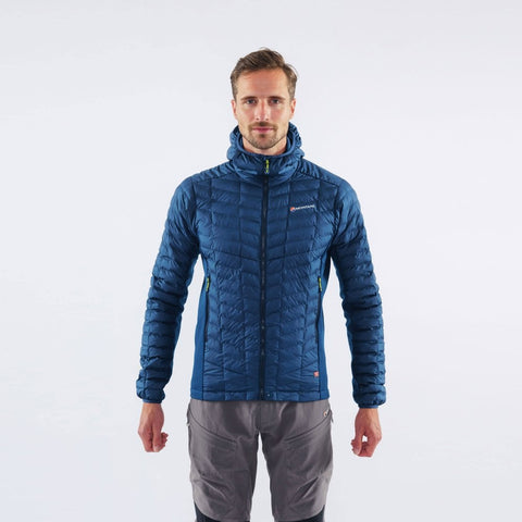 Montane Men's Icarus Stretch Primaloft Jacket - Narwhal Blue