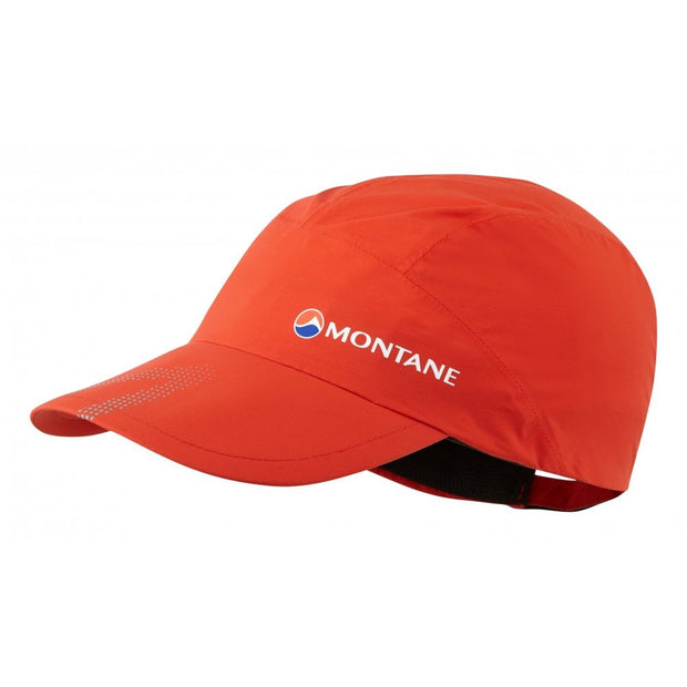 Montane Minimus Stretch Ultra Waterproof Cap - Flag Red One Size