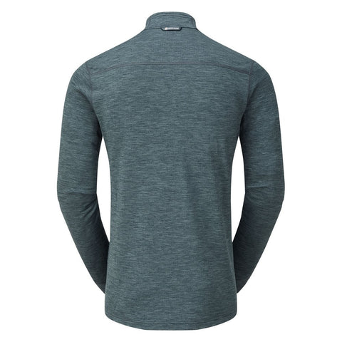 Montane Men's Protium Pull-On Fleece Top - Astro Blue