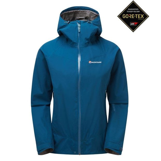 Montane Women's Pac Plus Gore-Tex Jacket - Narwhal Blue