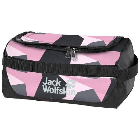 Jack Wolfskin Expedition Wash Bag - Pink Geo Block