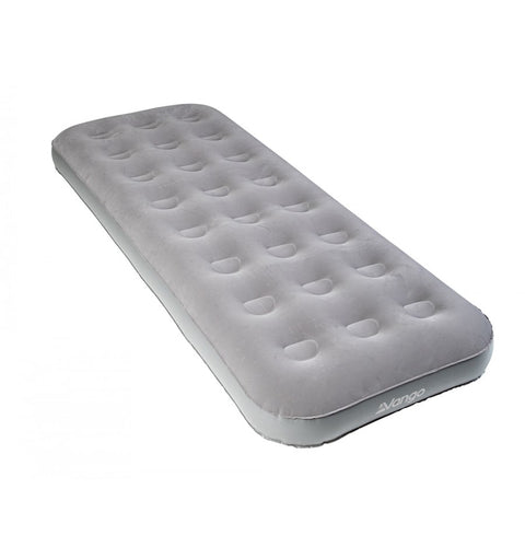 Vango Single Airbed Inflatable Mattress - Nocturne Grey
