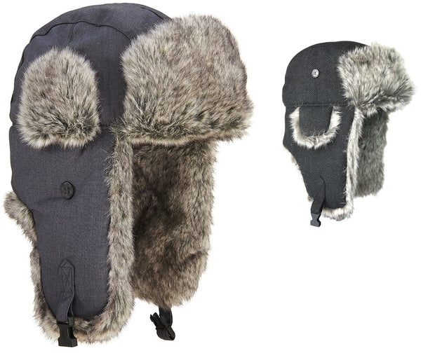 Extremities Ajo Faux Fur Lined Trapper Hat - One Size