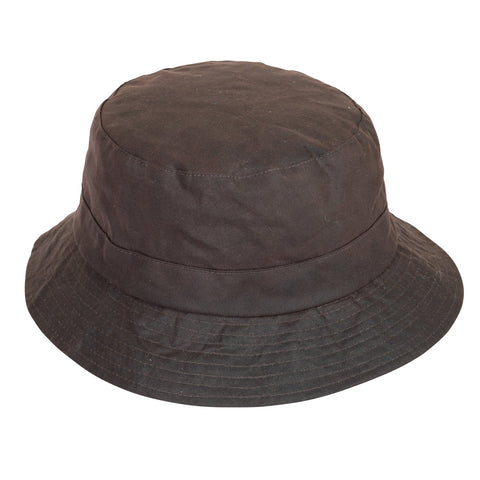 Extremities Burghley Wax Cotton Waterproof Hat - Brown
