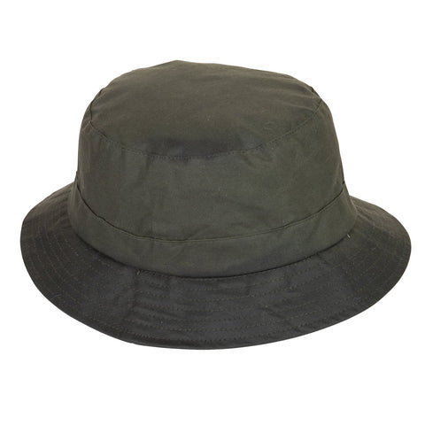 Extremities Burghley Wax Cotton Waterproof Hat - Khaki