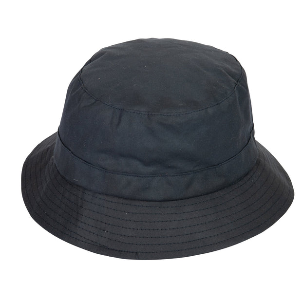 Extremities Burghley Wax Cotton Waterproof Hat - Navy