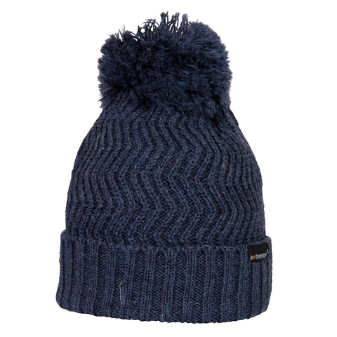 Extremities Castleton Knitted Wool Bobble Hat Beanie