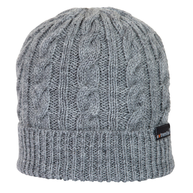 Extremities Hathersage Knitted Wool Beanie Hat