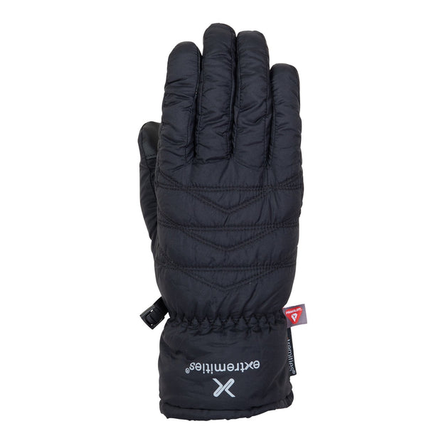 Extremities Paradox Lightweight Packable Primaloft Glove - Black