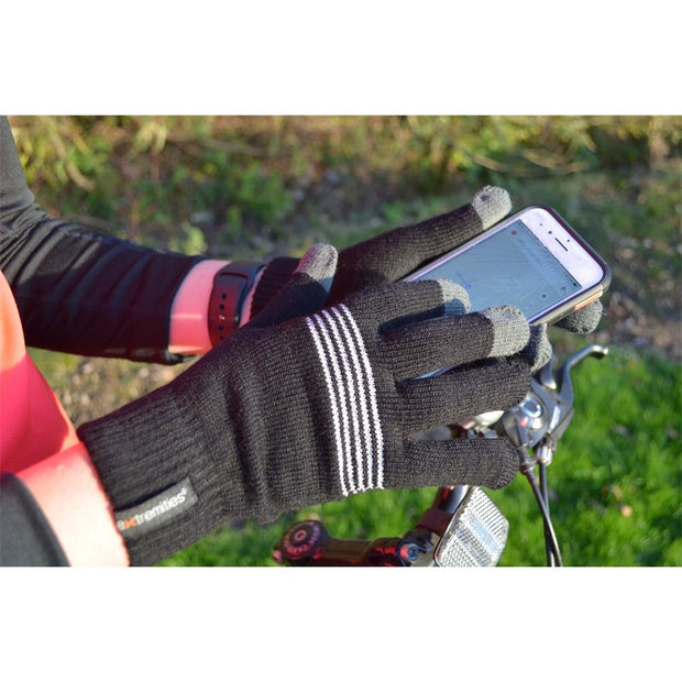 Extremities Thinny Touch Reflective Thermal Gloves - One Size