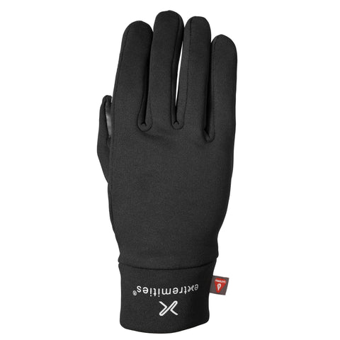 Extremities Sticky Primaloft Close Fitting Glove - Black