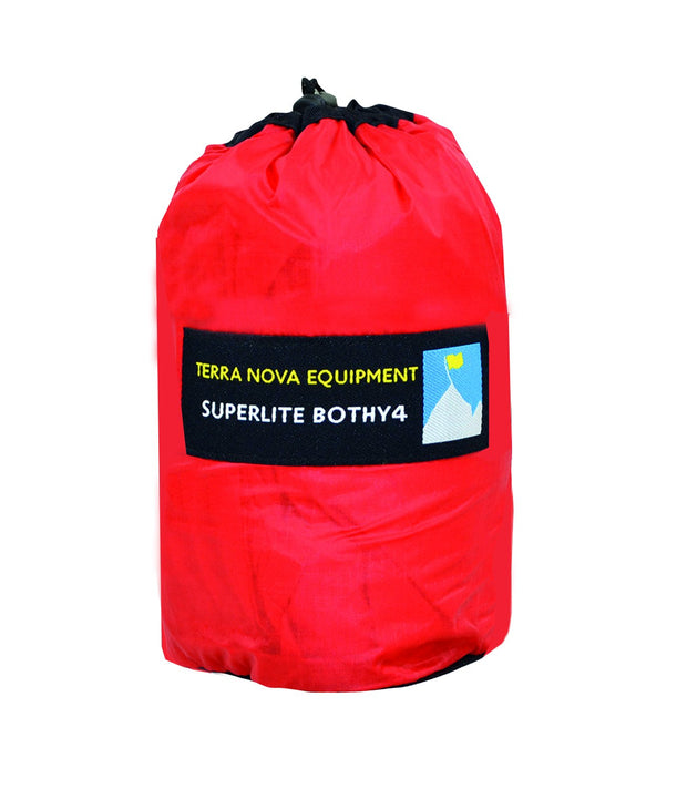 Terra Nova Superlight Bothy 4 Emergency Shelter - Red