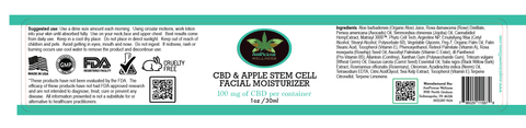 Auspicious Wellness Apple Stem Cell Anti Aging Cream