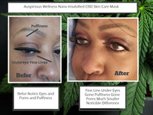 Load image into Gallery viewer, ANTI_Aging_Hydrating_Nano_Emulsified_ Hyaluronate_CBD_Facial_Mask
