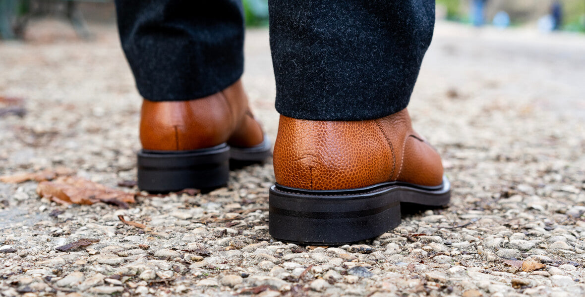 boots homme trepointe
