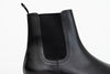 ypsons chelsea boots homme cuir noir vue zoom