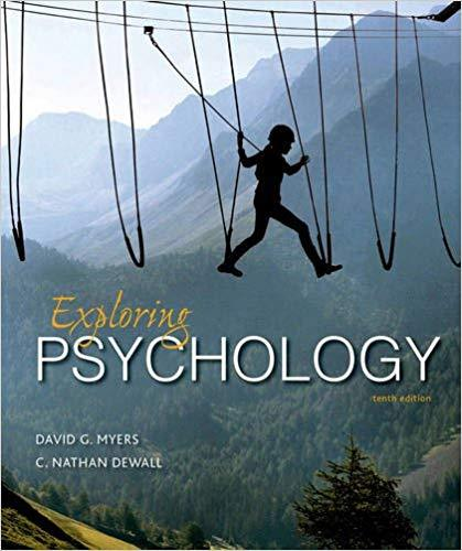 Exploring Psychology 10th Edition PDF (ebook)
