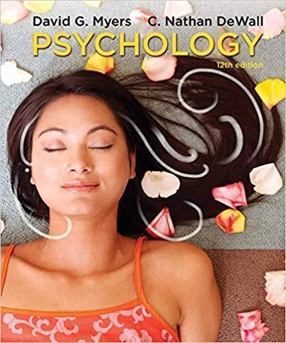Psychology 12th Edition by David Myers PDF (ebook)