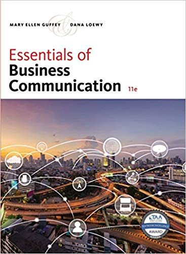 Essentials of Business Communication 11th Edition PDF (ebook)