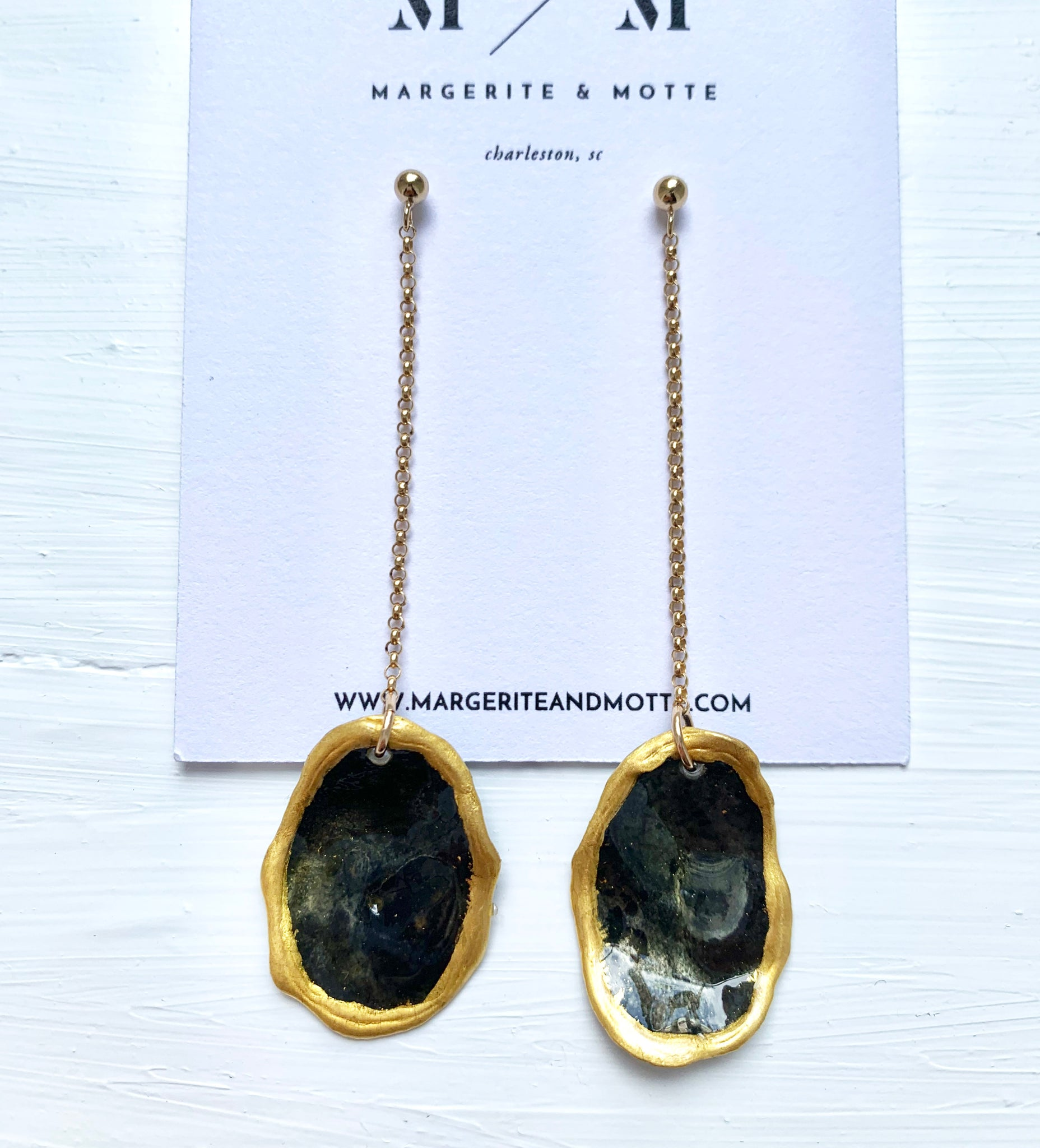Ann Chandler Earrings - Battery