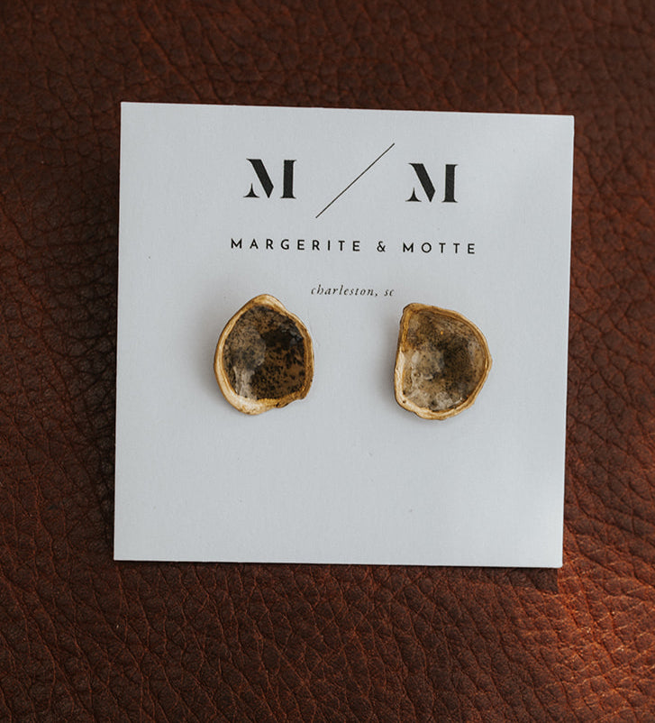 Duchess Stud Earrings - Battery