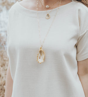 Magnolia Necklace - Sol Legare