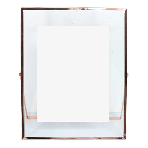 Rose gold frame Was £10 Now £5