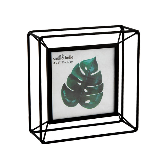 SQUARE METAL PHOTO FRAME