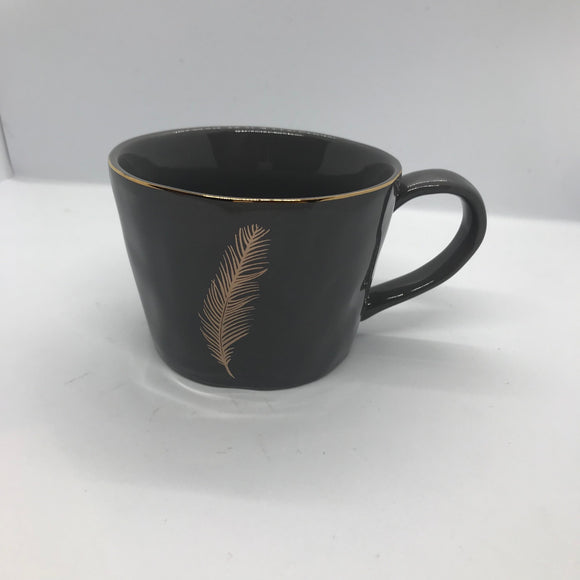 Gisela graham grey feather mug