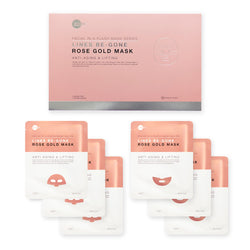 Lines Be-Gone Rose Gold Mask