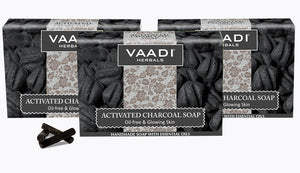 Activated Charcoal Soap (3 x 75 gms / 2.7 oz)