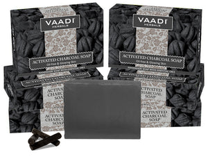 Activated Charcoal Soap (6 x 75 gms / 2.7 oz)