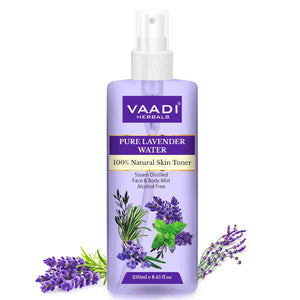 Lavender Water -100% Natural & Pure Skin Toner (250 ml / 8.5 fl oz)