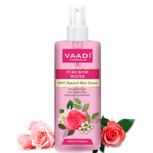 Rose Water - 100% Natural & Pure (250 ml / 8.5 fl oz)