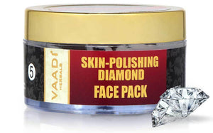 Skin Polishing Organic Diamond Face Pack - Makes Skin Radiant (70 gms/ 2.5 oz)