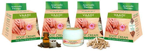 Pack of 4 Foot Cream - Clove & Sandal Oil (4 x 30 gms /1.1 oz)