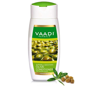 Multi Vitamin Organic Rich Olive Conditioner with Avocado Extract - Makes Hair Lustrous - Adds Bounce to Hair (110 ml/ 4 fl oz)