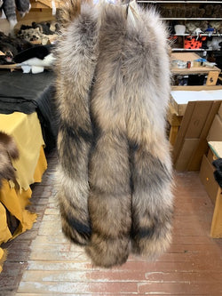 Finnish Raccoon Hood Ruffs