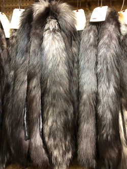 Silver Fox Hood Ruffs - #2 Quality